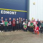 Edmont raise money for Christmas Jumper Day